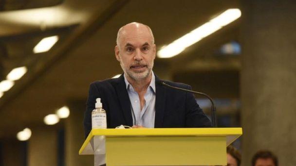 Rodríguez Larreta en la apertura de sesiones: en pose de líder opositor