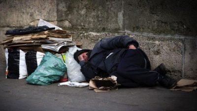 Casi 8.000 personas viven en situación de calle en la Ciudad de Buenos Aires