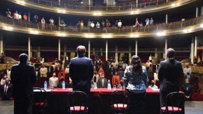 El intendente de La Plata quiere incorporar a los cooperativistas al municipio