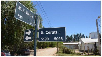 Neuquén: sólo una de cada 30 calles lleva el nombre de una mujer