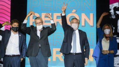 Fernández asumió la presidencia del Consejo del Partido Justicialista