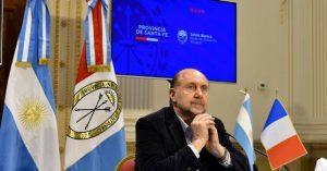 Santa Fe: El Gobernador se distanció de propios y ajenos en el Senado santafesino