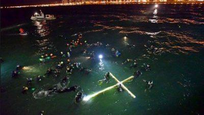 Vuelve a Puerto Madryn el único Vía Crucis submarino del mundo