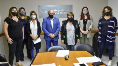 Madryn: el municipio acordó un aumento del 35% para los empleados municipales