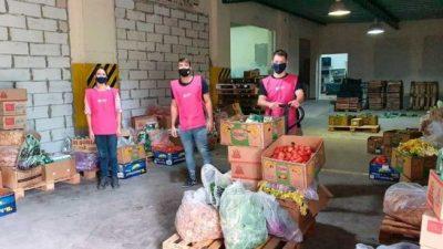El rescate de alimentos en Santa Fe, un paso clave para afrontar los altos índices de pobreza