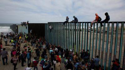 Récord de niños migrantes no acompañados en la frontera con México