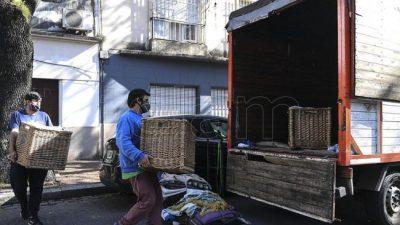 Desalojos: darán prioridad para la asistencia a personas en situación de vulnerabilidad