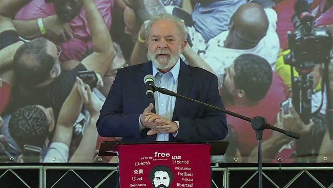 Lula criticó la gestión de la pandemia de Bolsonaro y pidió vacunas para los países pobres