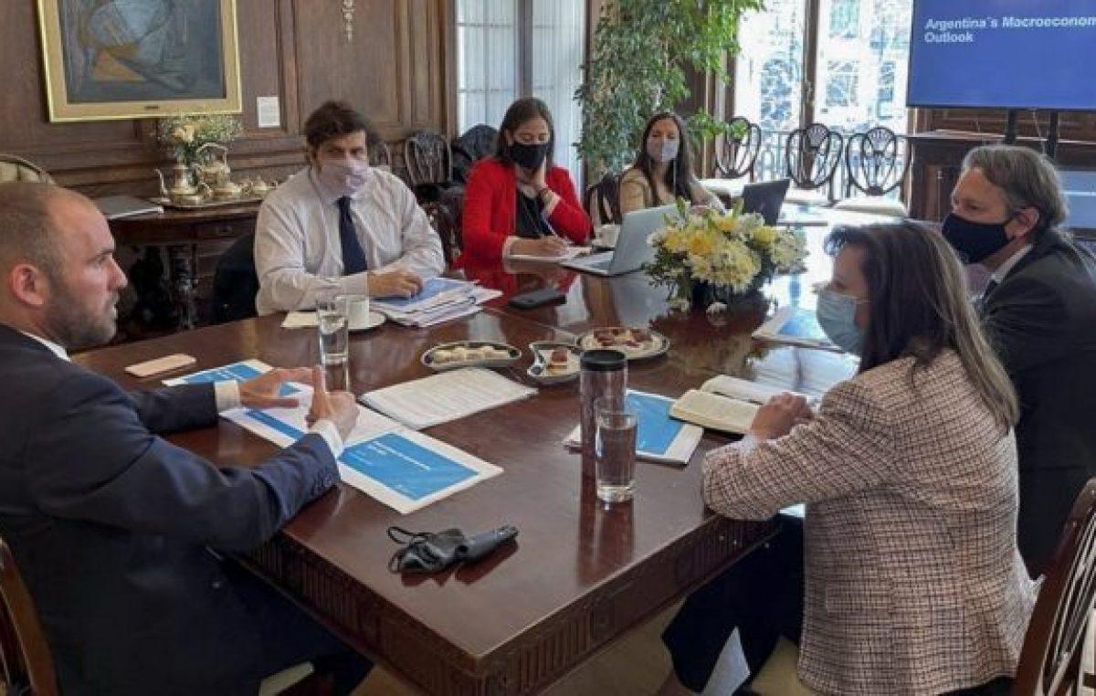 Guzmán: si hay cambios en créditos del FMI, es importante que Argentina pueda acceder a esas mejoras