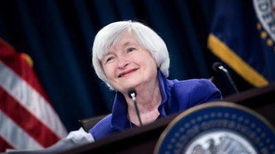 La secretaria del Tesoro de Estados Unidos propone un impuesto global a las corporaciones