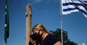 Uruguay lidera los contagios mundiales por cada millón de habitantes