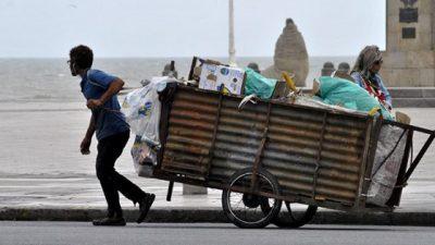 Alarmantes cifras de pobreza y desocupación en Mar del Plata