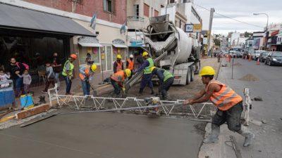 Comodoro Rivadavia tiene en ejecución más de 30 obras de mediano y alto impacto