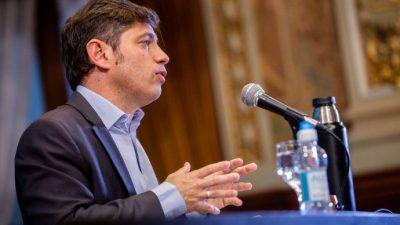 Axel Kicillof: «Tenemos la oposición más destructiva del mundo»