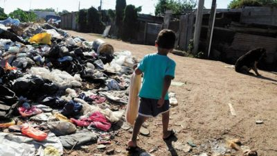 Pobreza y desocupación, los «virus» que Concordia no puede derrotar