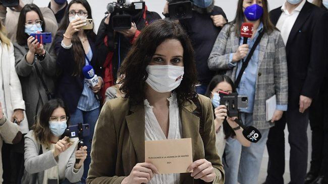 Elecciones en Madrid: el PP gana y queda muy cerca de ser gobierno otra vez