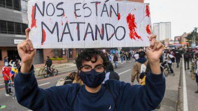 Bachelet reclamó una investigación independiente sobre los muertos registrados en Cali