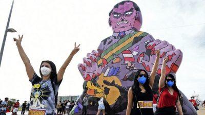 Protestas en Brasil contra Bolsonaro y su gestión de la pandemia