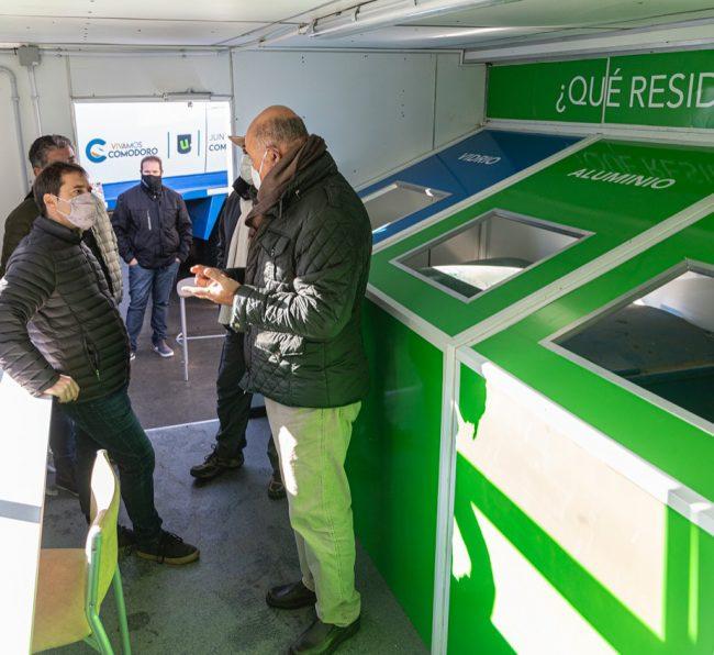El Municipio de Comodoro Rivadavia incentiva a realizar acciones de reciclaje