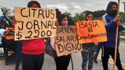 Denuncian que la UATRE condena a trabajadores a salarios de «hambre y miseria»