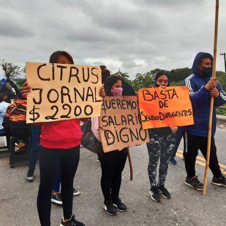"""Denuncian que la UATRE condena a trabajadores a salarios de """"hambre y miseria"""""""