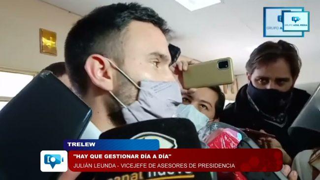 Leunda ratificó el compromiso federal con los municipios de Chubut