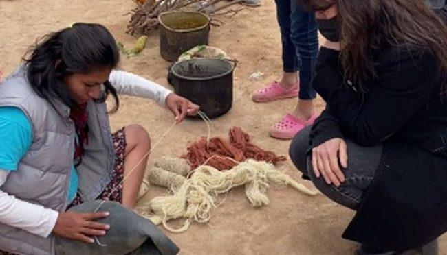 Mujeres artesanas de Salta ofrecen online sus productos al mundo