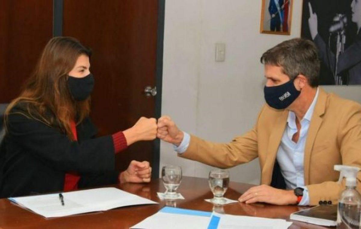 La Ciudad de Salta recibirá mil millones para obras de agua y saneamiento