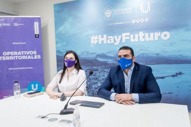 Ushuaia participó en el lanzamiento del Programa Acercar Derechos