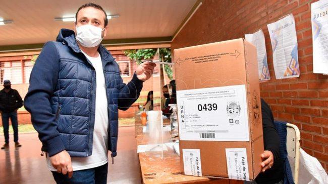 Misiones abrió el calendario electoral con protocolos sanitarios
