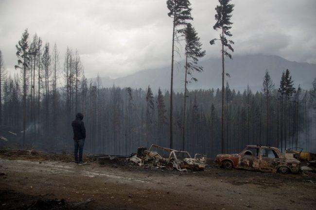 Reclaman respuestas a tres meses de los incendios en la Comarca Andina