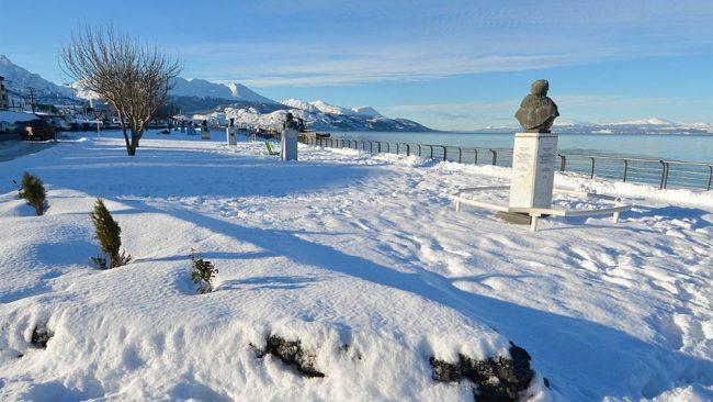 Ushuaia: La mayor nevada en 20 años