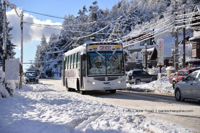 Bariloche: El municipio adelantó 800 mil pesos del subsidio provincial a Mi Bus