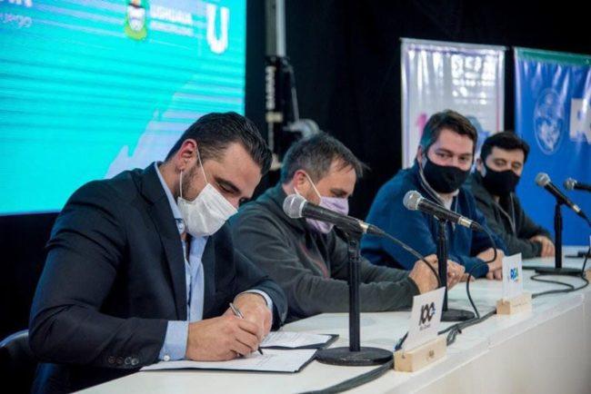 Nación e intendentes fueguinos firmaron un acuerdo para la gestión de residuos sólidos urbanos