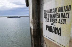 La bajante del Río Paraná «es un auténtico holocausto ambiental»
