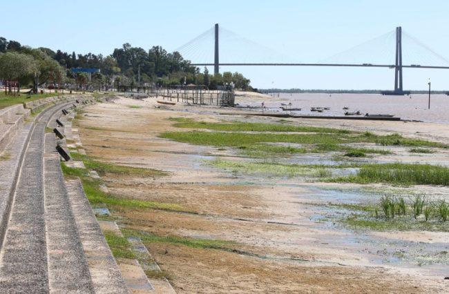 Santa Fe: ASSA recibirá 170 millones de pesos extras para enfrentar la bajante del Paraná