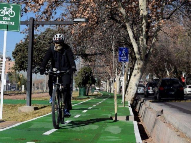 Mendoza tendrá la mayor red de ciclovías del interior