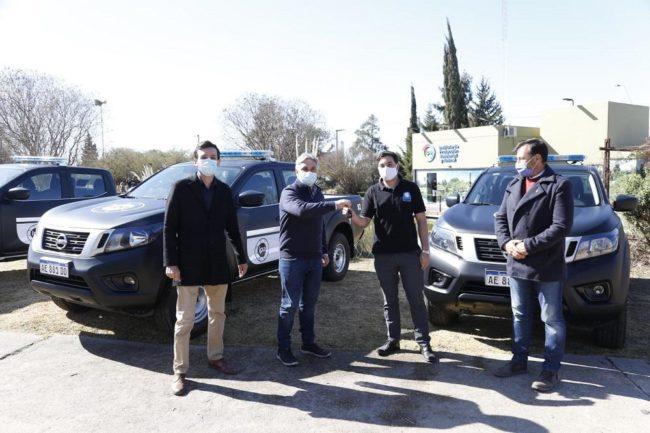 El intendente de Córdoba presentó la patrulla ambiental del IPA
