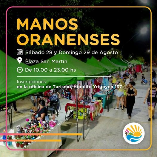 "Vuelve la feria ""Manos Oranenses"""