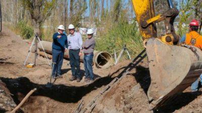 La red de gas y cloacas de Neuquén es la más desarrollada del país