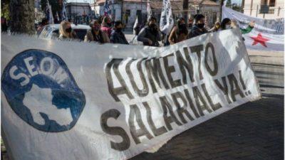 Municipales de Jujuy se declararon en estado de alerta y movilización