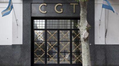 La CGT definirá si reforma el estatuto y debatirá el escenario tras las PASO