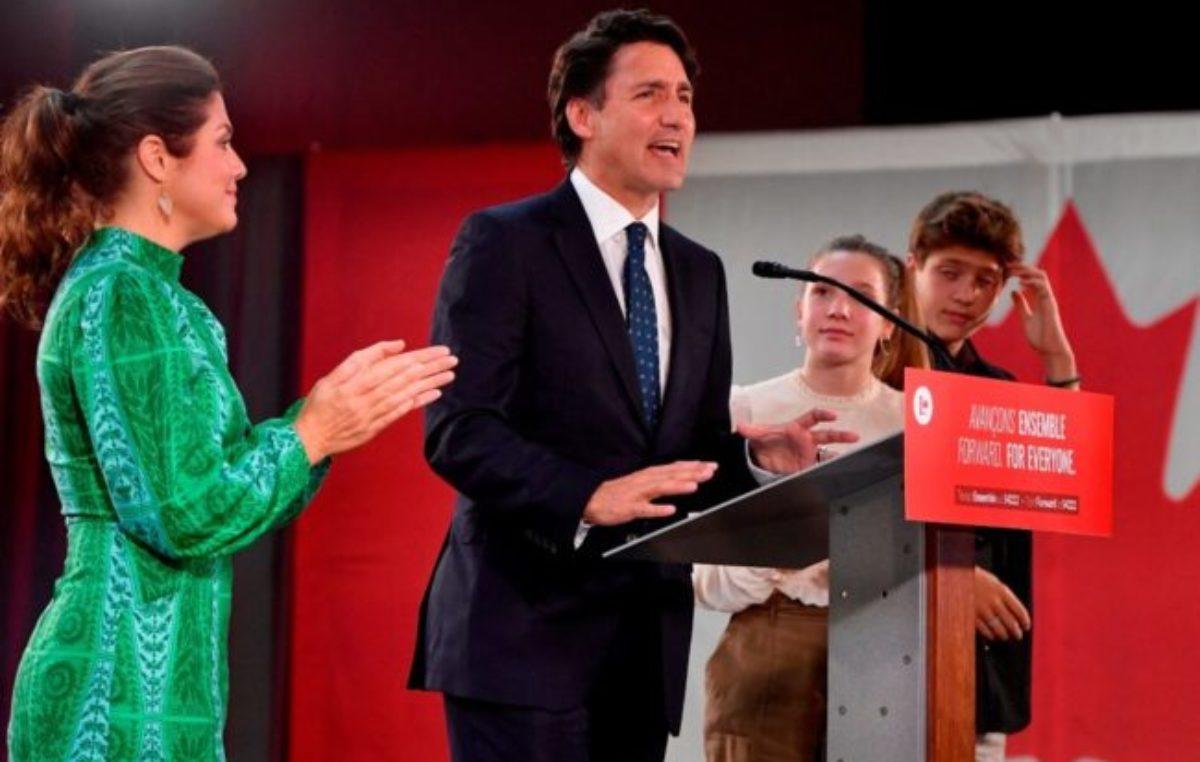 Elecciones en Canadá: Justin Trudeau fue reelecto pero no alcanzó la mayoría en el Parlamento