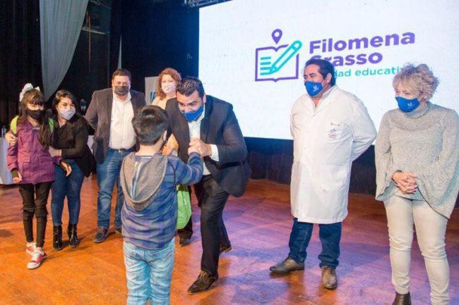 El Intendente de Ushuaia presentó el Programa Municipal de Inclusión Educativa