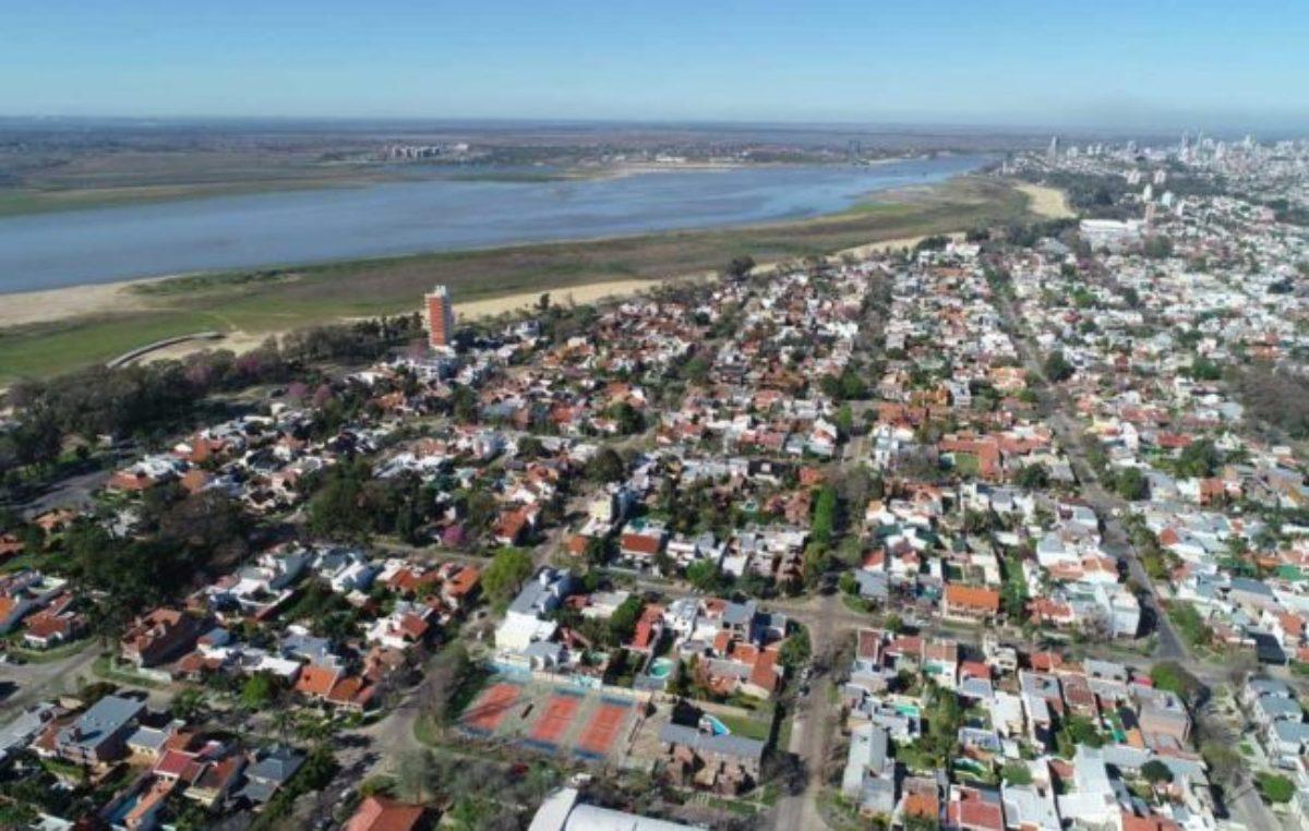 En silencio, el Río Paraná sigue en descenso en Santa Fe