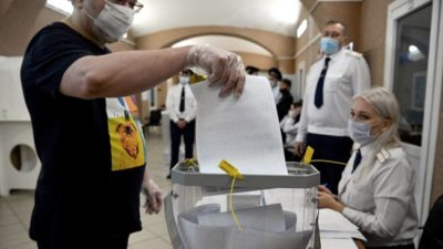 El partido de Putin revalidó su mayoría en las elecciones legislativas rusas