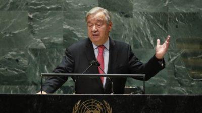 Con una severa advertencia del Secretario General, comenzó la Asamblea anual de la ONU