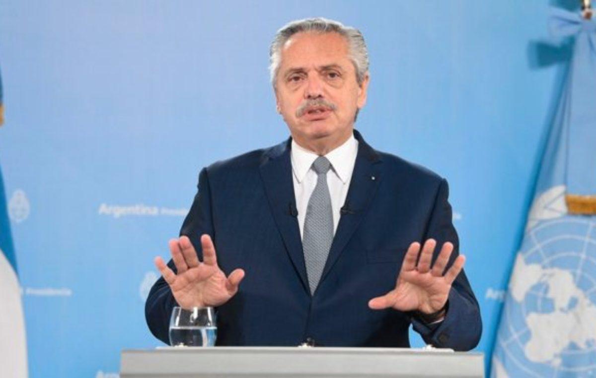 Fernández criticó el «endeudamiento tóxico e irresponsable» de Cambiemos con el FMI