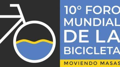 Rosario será desde este miércoles sede del 10º Foro Mundial de la Bicicleta