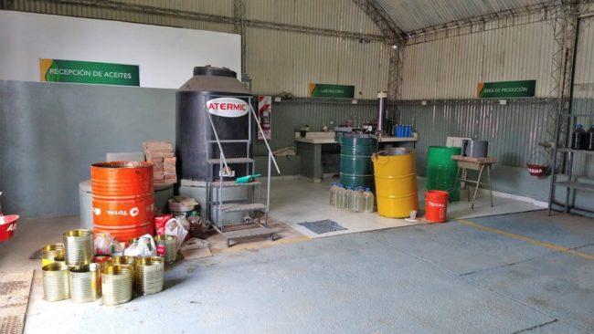 Huinca: el Municipio genera biodiésel a partir de aceite de cocina usado